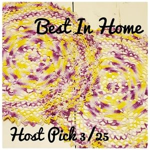 🆕️ Large Handmade Doileys~Host Pick 3/25